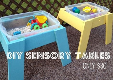 Diy Sensory Table diy sensory tables for kidsomania