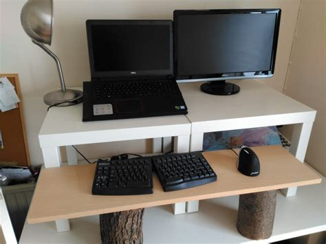 Create A Cheap Easy And Quick Diy Stand Up Desk Nest Inexpensive Stand Up Desk