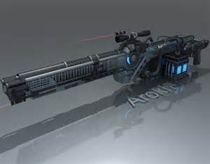 Proton Beam Weapon Calypso Weapon Concept By Arokh