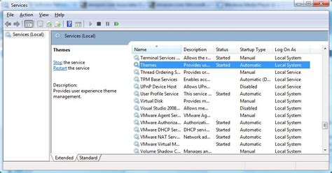 microsoft themes service windows server 2008 quot aero enabled quot workstation edition