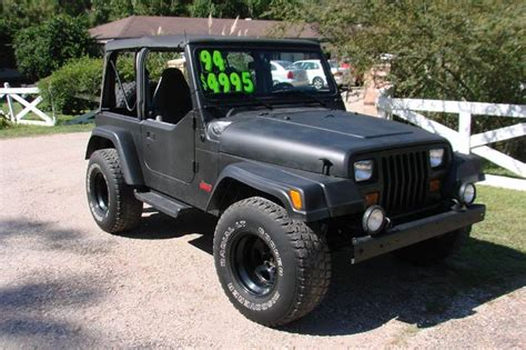 1994 Jeep Wrangler Yj For Sale 1994 Jeep Wrangler For Sale Carsforsale