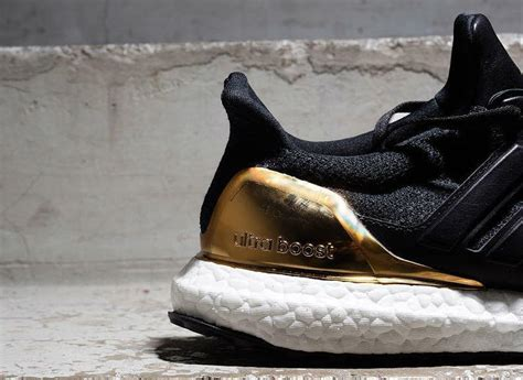 Adidas Ultra Boost Olympic Medal Black Gold adidas ultra boost black gold sole collector
