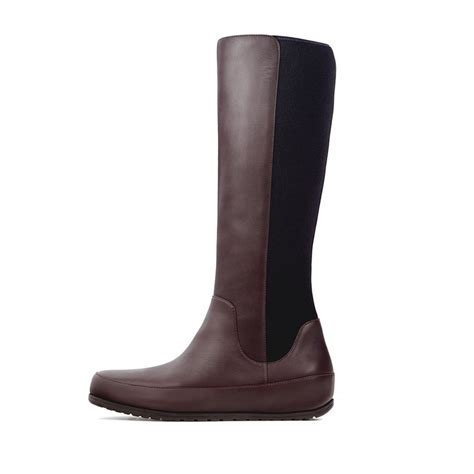stretch boots fitflop due boot stretch boot in brown
