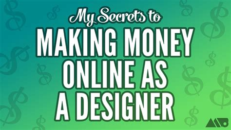 How To Make Money From An Online Magazine - my secrets to making money online as a designer how to