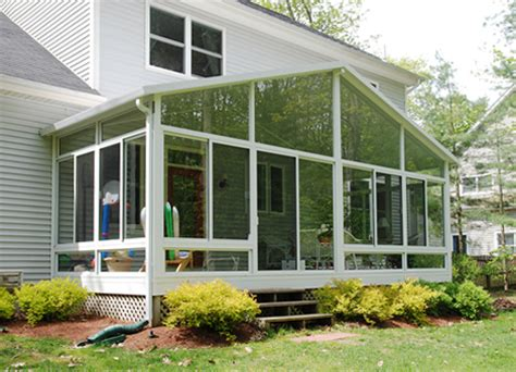 Sunroom Materials vinyl or aluminum sunroom which material is best for your sunroom