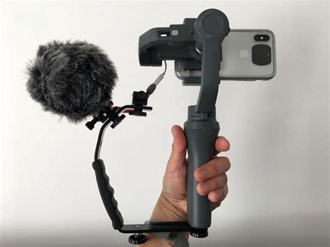 Dji Osmo Mobile 2 Samsung Galaxy S10 by Budget Smartphone Rig Mount Dji Osmo Mobile 2 Iphone X Rode Microvideo Colour My Living