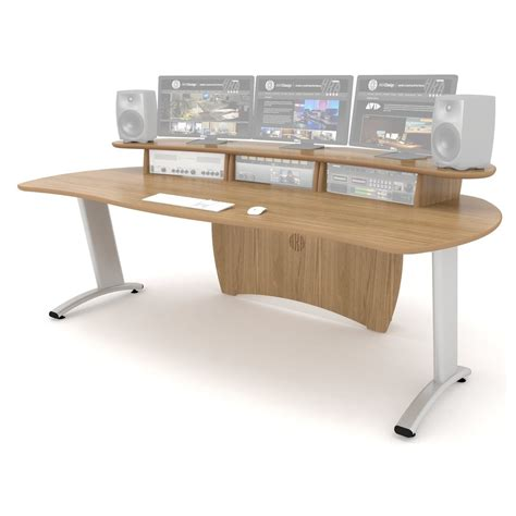 Aka Design Prolite Studio Desk Oak At Gear4music Com Oak Studio Desk