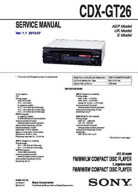 sony cdx f5710 wiring diagram 28 images sony cdx