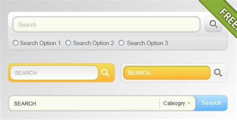 html design search box 45 search box psd designs for free download idevie