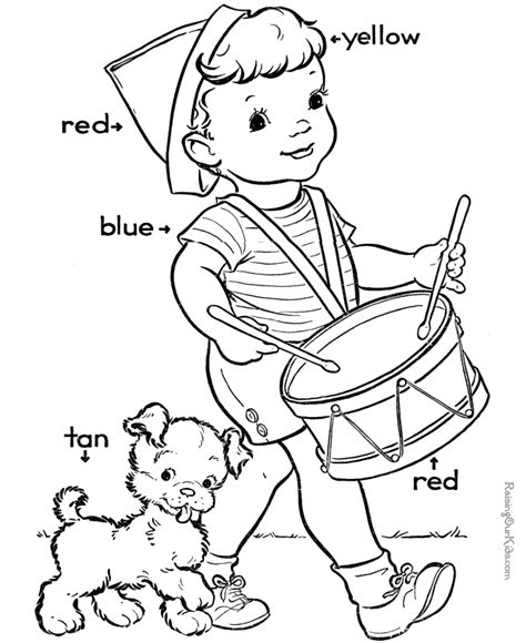 color worksheets preschool az coloring pages