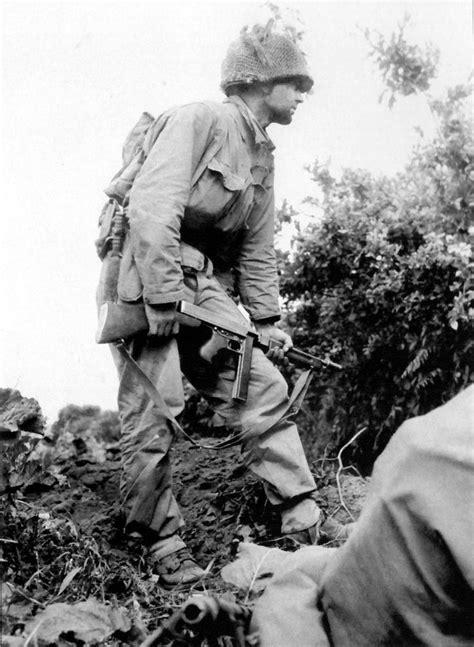 26 August 1944 outside of Brest an American Infantryman