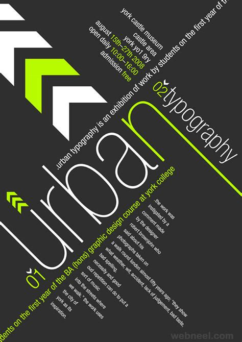 layout in poster design 40 creative typography posters design exles for your