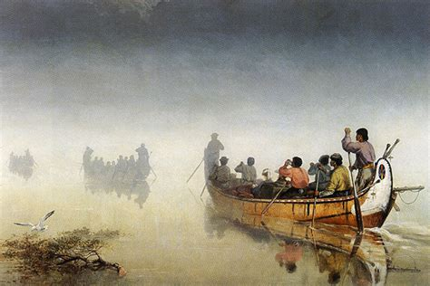canoes in a fog lake superior outaouais forest history the ottawa river the shortcut