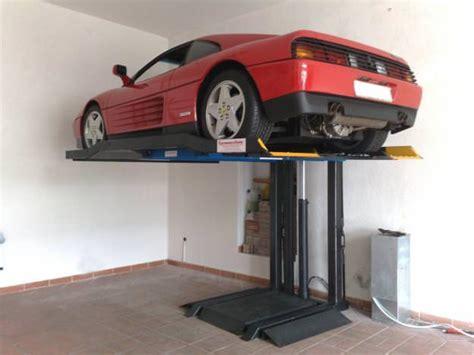 box per auto usati sollevatore auto per box