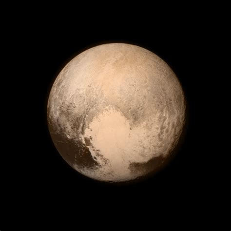 pluto early best guess at color the planetary society