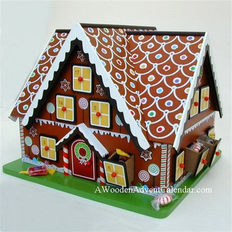 musical advent calendar house gingerbread house advent calendar