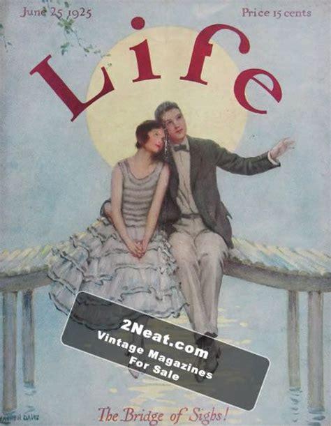 magazine biography exle for sale life magazine june 25 1925 2225 love