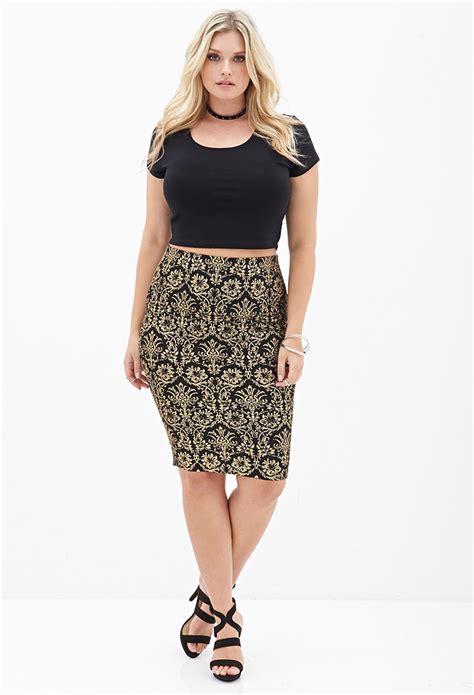 black patterned midi skirt patterned midi skirt skirt ify