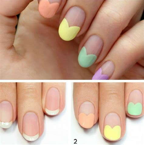 Ongle Simple by Ongles Facile A Faire A La Maison