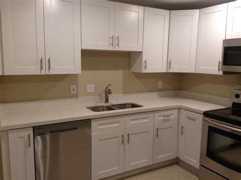 White Shaker Cabinets Fort Lauderdale, FL   New Bathroom