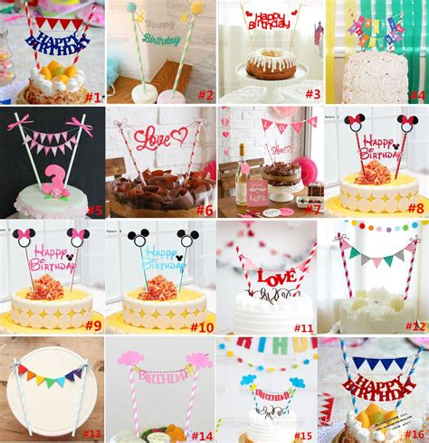 Cake Supplies by Aliexpress Buy Cheap Happy Birthday Cake Topper