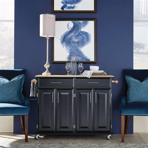 dolly madison black island cart home styles