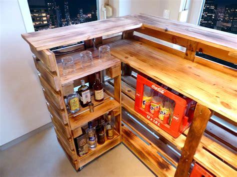 Bar Aus Paletten by Paletten Bar Paletten Tresen Palettery De