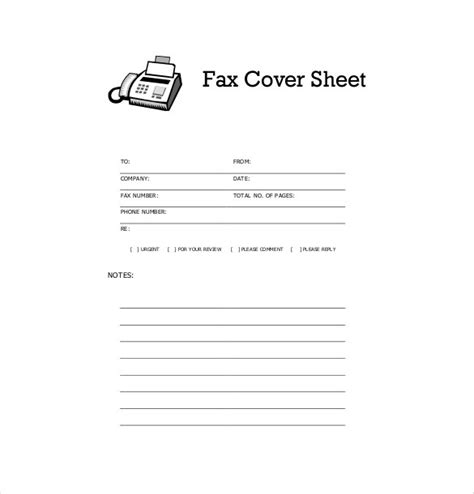 free cover sheet template basic fax cover sheet pertamini co