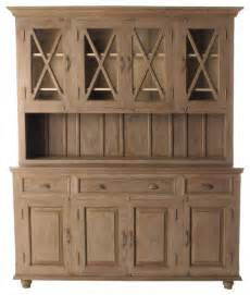 french country plantation 4 door hutch cabinet large traditional storage cabinets by