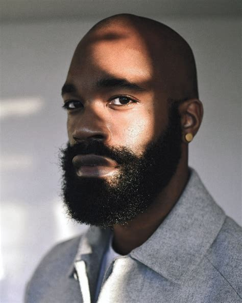 beard styles  black men masculine facial hair ideas