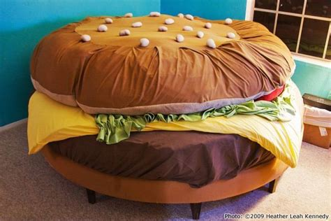 the history of the hamburger bed