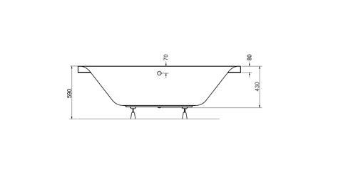 dimensions baignoire baignoire genova baignoire design mobilier salle de