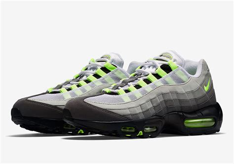 air max 95 nike air max 95 og quot neon quot 554970 071 release info
