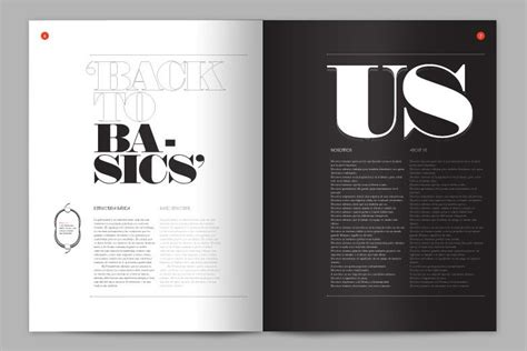 magazine layout black and white layout love two color high contrast love design