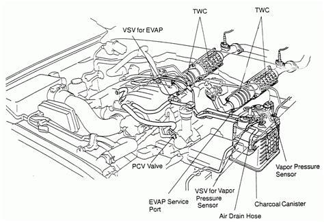 toyota 4runner engine diagram 2000 toyota 4runner engine diagram engine automotive