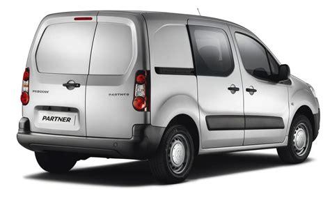 peugeot partner van peugeot expert partner van ranges updated for 2013