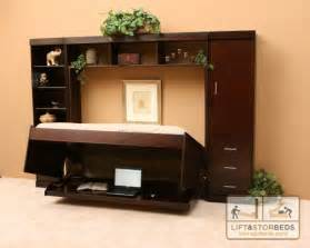 Small Hideaway Desk Beds Space Saving Solution Lift Stor Beds