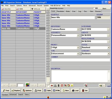 project issue log template issue tracking log template