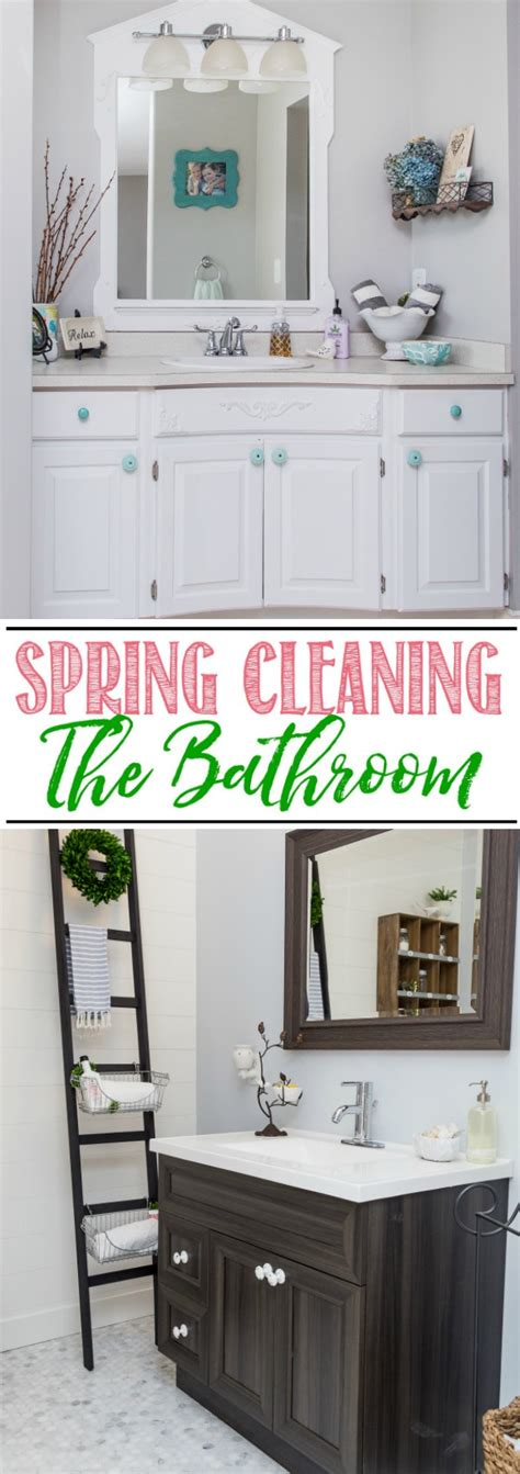 spring cleaning bathroom bathroom spring cleaning checklist clean and scentsible