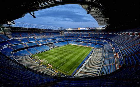 real madrid santiago bernabeu stadium wallpapers download wallpapers santiago bernabeu stadium 4k