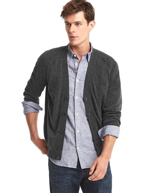 Jual Sweater Baby Gap mens gap cardigan sweater grey