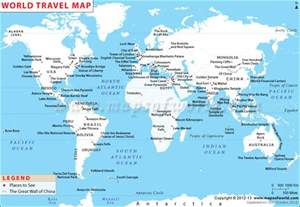 Great Rivers Of The World Map by World Travel Maps