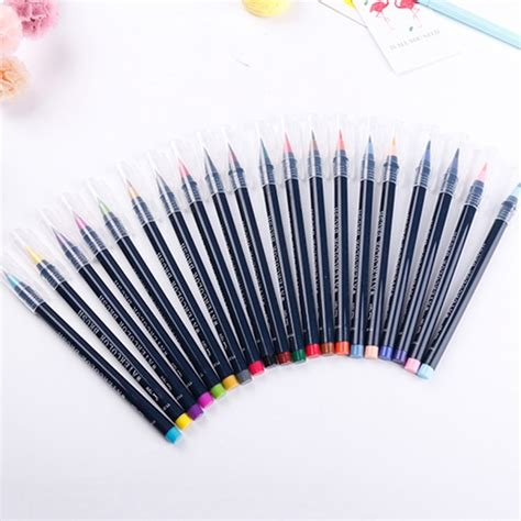 Painting Brush Pen Set 20 pcs box painting drawing ink watercolor water color