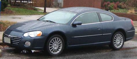 04 Chrysler Sebring Mpg by 2005 Chrysler Sebring Base Sedan 2 4l Auto