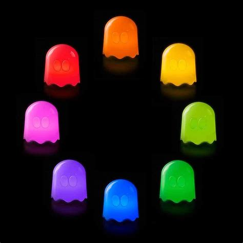 pacman ghost colors pac ghost l mood lights for the home menkind