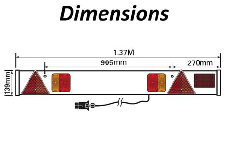 wiring diagram for trailer light board efcaviation