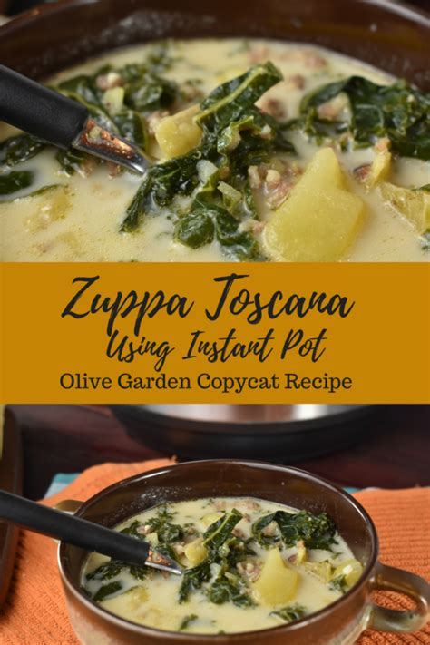 cara membuat zuppa soup instant zuppa toscana instant pot recipe copycat from olive
