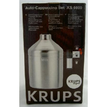 Krups Xs 6000 Xs6000 Auto Cappuccino Set Espresso Coffee Krups Ea Xp krups auto cappuccino set xs6000 milchaufsch 228 umer espresseria xs6000 ebay