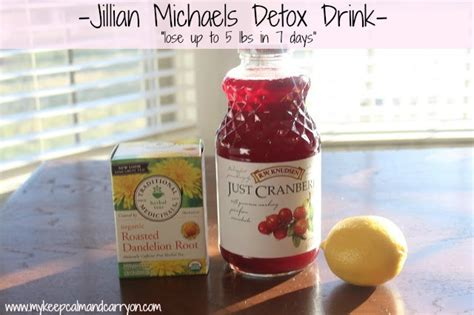 Julian Michales Detox by Keep Calm And Carry On Jillian Detox Drink