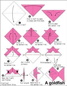 Gold Fish Origami - 1000 images about origami on easy origami fox and easy origami for
